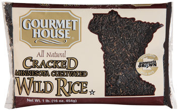 Gourmet House® Cracked Minnesota Cultivated Wild Rice 16 oz. Bag