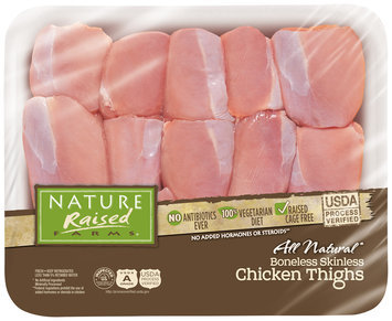 Nature Raised Farms® Boneless, Skinless Chicken Thighs