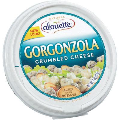 Alouette Gorgonzola Crumbled Cheese 4 Oz Plastic Tub