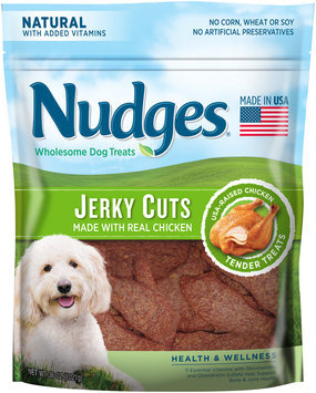 Nudges® Health and Wellness Chicken Jerky Wholesome Dog Treats 36 oz. Bag