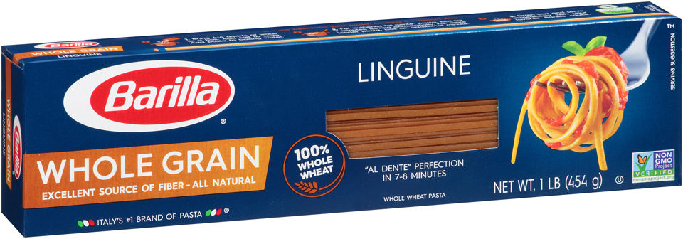 Barilla® Whole Grain Linguine 1 lb. Box