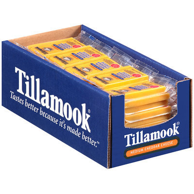 Tillamook® Medium Cheddar Cheese 50-0.75 oz. Portions