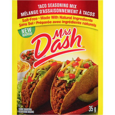 Mrs Dash® Taco Seasoning Mix 35g Packet