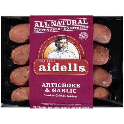 Aidells® Artichoke & Garlic Smoked Chicken Sausage 12 oz. Pack
