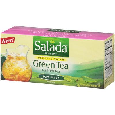 Salada® Decaffeinated Green Tea Family Size Tea Bags 16 ct Box