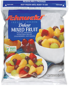 Schnucks Deluxe Freshly Frozen Mixed Fruit