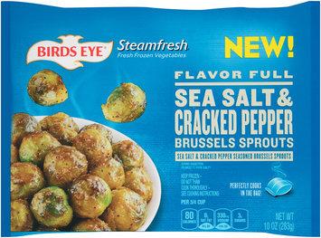 Birds Eye® Steamfresh® Flavor Full Sea Salt & Cracked Pepper Brussels Sprouts 10 oz. Bag