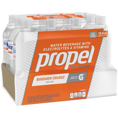 Propel® Mandarin Orange Water Beverage with Electrolytes & Vitamins 12-16.9 fl. oz. Bottles