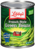 Libby's® French Style Green Beans 8 oz. Can