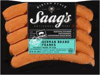 Saag's™ Bistro Style German Brand Franks 10 oz. Package