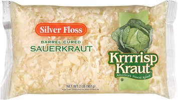 Silver Floss Krrrrisp Kraut® Barrel Cured Sauerkraut 32 oz. Bag