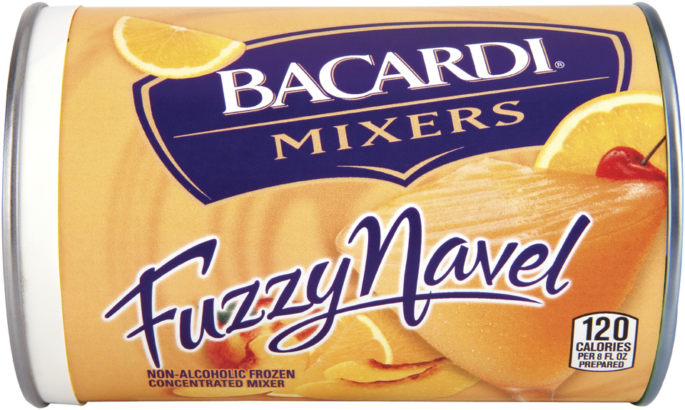 Bicardi® Frozen Mixers Frozen Concentrate Fuzzy Navel 10 oz. Can