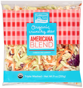 earthbound farm® organic crunchy americana slaw blend