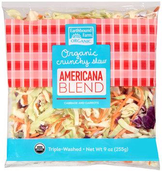 Earthbound Farm® Organic Crunchy Americana Slaw Blend 9 oz. Bag