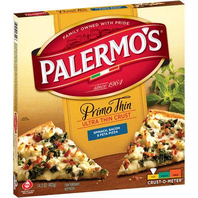 Palermo's Primo Thin Ultra Thin Crust Spinach, Bacon & Feta Pizza, 14.2 oz. Box