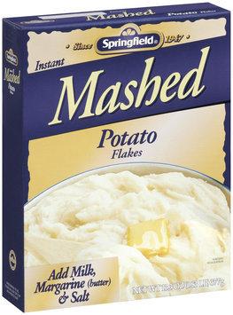 Springfield Instant Mashed Potato Flakes 13.3 Oz Box