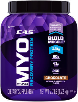 EAS® Myoplex Recovery Protein Chocolate Dietary Supplement 2.7 lb. Canister