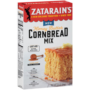 Zatarain's® Honey Butter Cornbread Mix 12.5 oz. Box