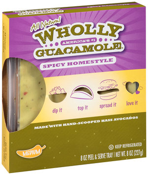 Wholly Guacamole® Spicy Homestyle Guacamole