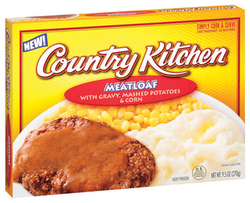 Country Kitchen W/Gravy Mashed Potatoes & Corn Meatloaf 9.5 Oz Box