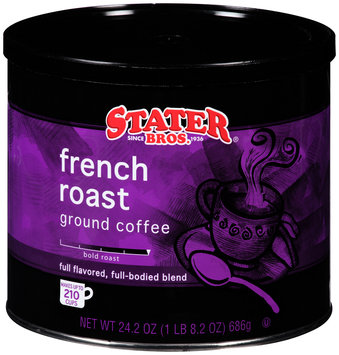 Stater Bros.® French Roast Ground Coffee 24.2 oz. Canister