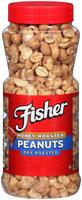 Fisher® Dry Roasted Honey Roasted Peanuts 14 oz. Jar