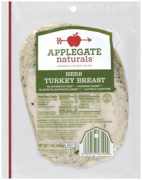 Applegate Farms® Naturals® Herb Turkey Breast 7 oz