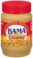 Bama Spreads Creamy, Modified 6/2/07 Peanut Butter 18 Oz Plastic Jar
