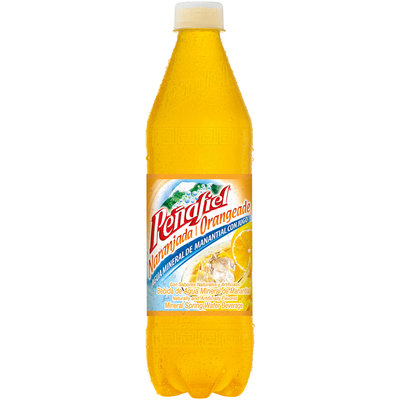 Penafiel® Mineral Spring Water Naranjada 20.3 fl oz. Bottle