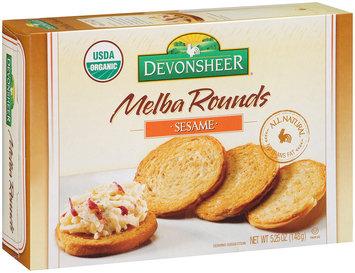 Devonsheer® Melba Rounds Sesame 5.25 oz. Box