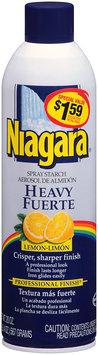 Niagara® Heavy Lemon Spray Starch 20 oz. Aerosol Can