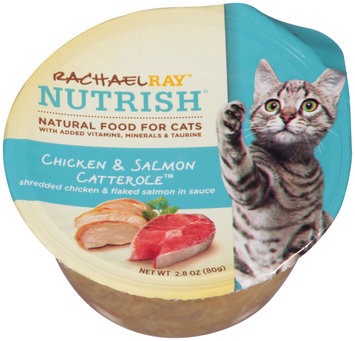 Rachael Ray™ Nutrish® Chicken & Salmon Catterole™ Cat Food 2.8 oz. Cup