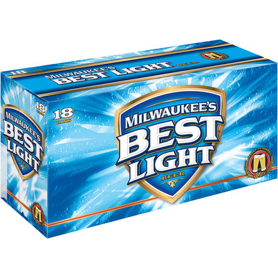 Milwaukee's Best Light 12 Oz Beer 18 Pk Cans