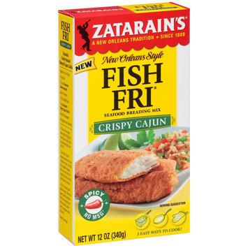 Zatarain's® Fish Fri® Crispy Cajun Seafood Breading Mix 12 oz. Box