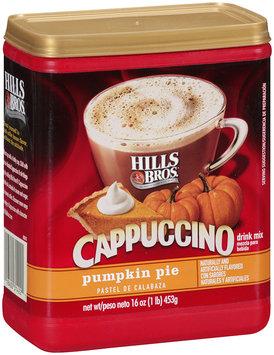 Hills Bros.® Cappuccino Drink Mix Pumpkin Pie 16 oz
