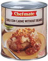Chef-Mate® Chili Con Carne Without Beans 6.62 lb. Can