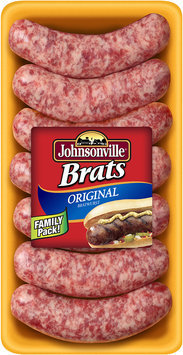 Johnsonville Original Brats 1.66lb tray (101758)
