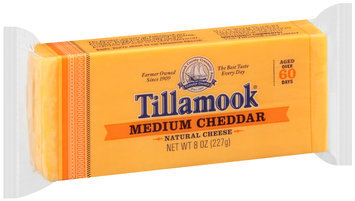 Tillamook® Medium Cheddar Cheese