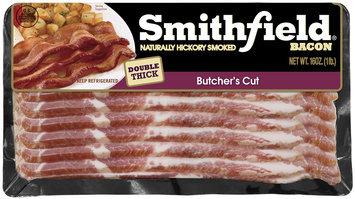 Smithfield® Naturally Hickory Smoked Butcher's Cut Bacon 16 oz. Pack