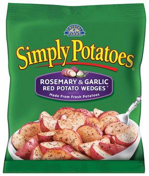 Simply Potatoes Rosemary & Garlic Red Potato Wedges Potatoes 20 Oz Bag