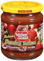 Kitchen Cooked Chunky Medium Salsa 16 Oz Jar