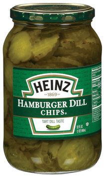 Heinz Hamburger Dill Chips Pickles