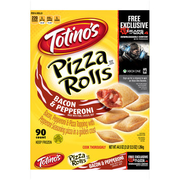 Totino's™ Bacon & Pepperoni Pizza Rolls™ 90 ct Bag
