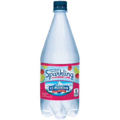 Ice Mountain® Sparkling Raspberry Lime Natural Spring Water