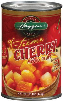 Haggen X-Treme Cherry Mixed Fruit 15 Oz Can