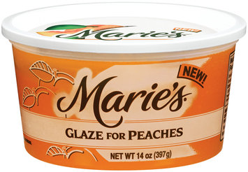 Marie's For Peaches Glaze 14 Oz Tub