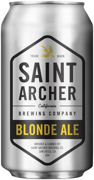 Saint Archer Brewing Company Blonde Ale Beer 12 fl. oz. Can