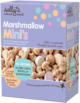 Sally's® Natural Cereals Marshmallow Mini's™ Sweetened Whole Grain Oat Cereal 2-20.0 oz. Bags