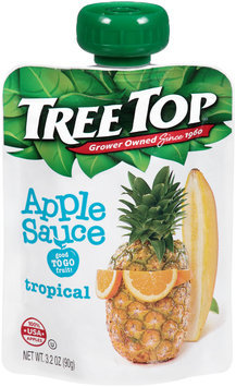 Tree Top® Tropical Apple Sauce 3.2 oz. Pouch