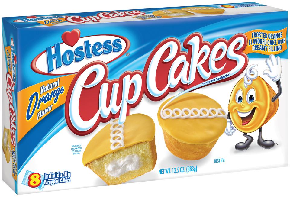 Hostess® Orange Cupcakes 8 ct Box